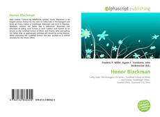 Bookcover of Honor Blackman