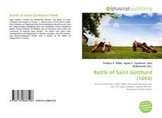 Portada del libro de Battle of Saint Gotthard (1664)