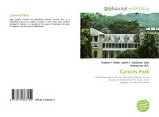 Bookcover of Canons Park
