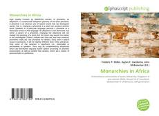 Bookcover of Monarchies in Africa