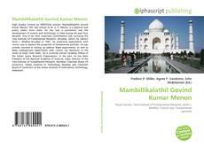 Bookcover of Mambillikalathil Govind Kumar Menon