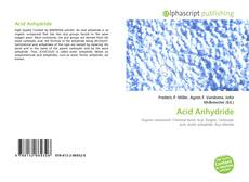 Bookcover of Acid Anhydride