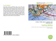 Bookcover of Lucius Aelius
