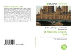Bookcover of St Albans By-Election, 1919