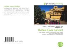 Buchcover von Durham House (London)