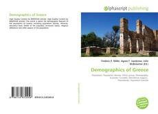 Bookcover of Demographics of Greece