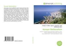 Bookcover of Korean Nationalism