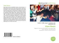 Capa do livro de Viper Room