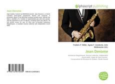 Bookcover of Jean Derome