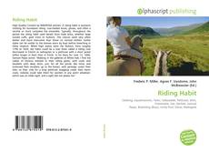 Bookcover of Riding Habit