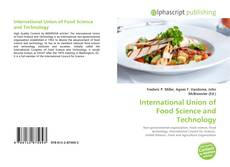 Bookcover of International Union of Food Science and Technology