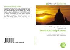 Bookcover of Emmanuel-Joseph Sieyès