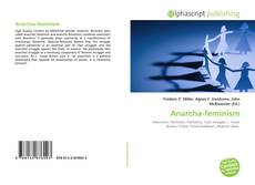 Bookcover of Anarcha-feminism