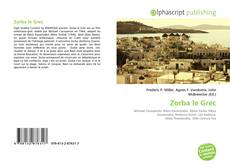 Bookcover of Zorba le Grec