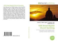 Bookcover of 16th Street Baptist Church bombing