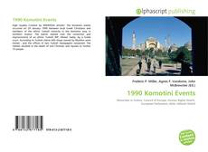 Bookcover of 1990 Komotini Events