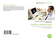 Bookcover of Electronic medical record