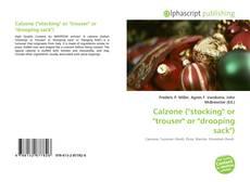 """Portada del libro de Calzone (""""stocking"""" or """"trouser"""" or """"drooping sack"""")"""