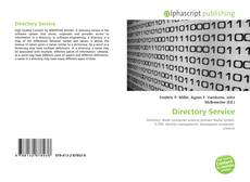 Bookcover of Directory Service