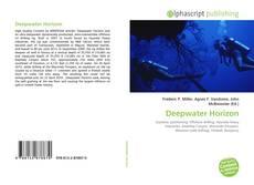 Bookcover of Deepwater Horizon