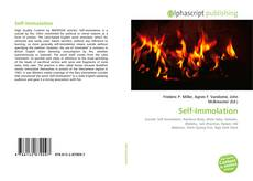 Self-Immolation kitap kapağı