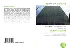Bookcover of Murder–Suicide