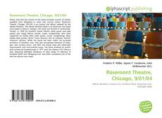 Bookcover of Rosemont Theatre, Chicago, 9/01/04