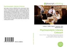 Bookcover of Psychoanalytic Literary Criticism