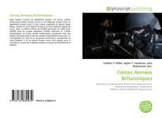 Bookcover of Forces Armées Britanniques