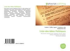 Liste des Idées Politiques的封面