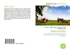 Bookcover of Battle of Oliva