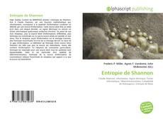 Capa do livro de Entropie de Shannon