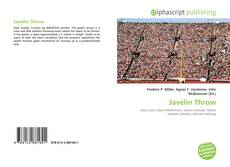 Bookcover of Javelin Throw