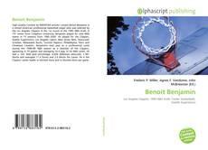 Portada del libro de Benoit Benjamin