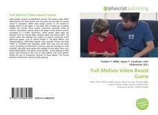 Buchcover von Full Motion Video Based Game