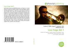 Bookcover of Live Frogs Set 1