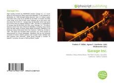 Copertina di Garage Inc.