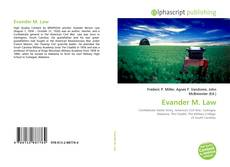 Bookcover of Evander M. Law