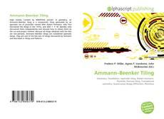 Copertina di Ammann–Beenker Tiling
