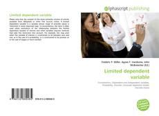 Limited dependent variable kitap kapağı