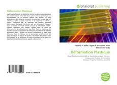 Bookcover of Déformation Plastique