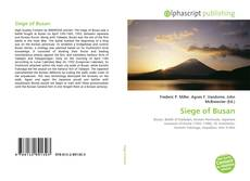Bookcover of Siege of Busan