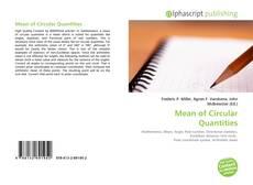Bookcover of Mean of Circular Quantities