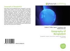 Portada del libro de Geography of Bangladesh