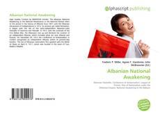 Capa do livro de Albanian National Awakening