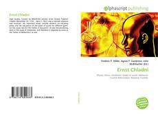 Buchcover von Ernst Chladni