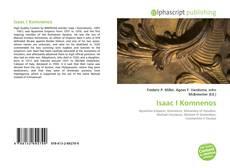 Обложка Isaac I Komnenos