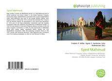 Bookcover of Syed Mahmud