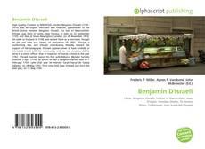 Bookcover of Benjamin D'Israeli