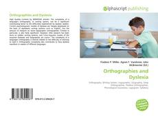 Обложка Orthographies and Dyslexia